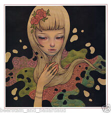 Audrey Kawasaki Lost In Thought sin Marco Zine Página: Marco Se Any Way You Want