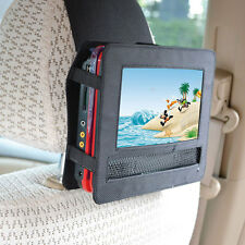 """TFY Car Headrest Mount Holder and Strap for 9"""" Portable DVD Player New"""