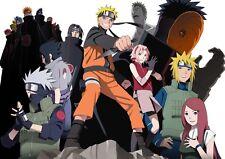 Naruto 4 A3 Cartel A489