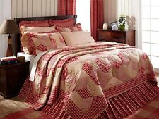 Breckenridge Queen Quilt by VHC Brands - Traditional Country Patchwork Bedding
