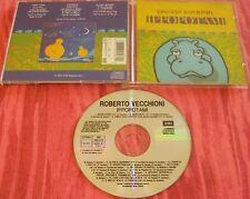 ROBERTO VECCHIONI Ippopotami CD 1992 Libretto con Testi