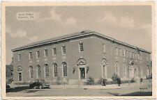 Post Office in Warren PA Postcard
