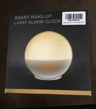 Smart Wake-Up Light Dual Alarm Clock 8 Colors Sunrise Simulation & Sleep Aid