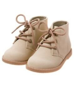 GYMBOREE HUDDLE UP SAND DESERT BOOTIES 9 NWT