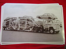 NEW 1977 AMC RAMBLER CARS ON CARRIER GREMLIN HORNET  11 X 17  PHOTO   PICTURE