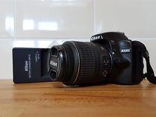 Nikon D D3200 24.2MP Fotocamera Reflex Digitale con Obiettivo 18-55 VR