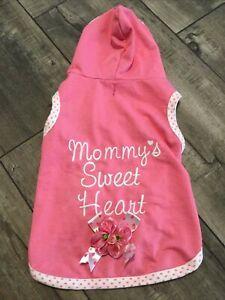 Smoochie Pooch Mommy's Sweet Heart Dog Hoodie