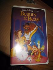 Disney Black Diamond Classic 1992 Beauty and the Beast VHS 1st