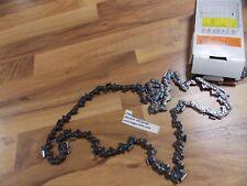 "1- 27AX080G Oregon 25"" skiptooth micro chisel saw chain 404 .063 gauge 80 DL"