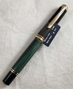 Pelikan M800 Souveran Fountain Pen. Complete w/Boxes, Papers, etc.!