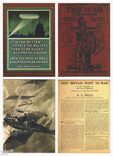 1914 WAR ILLUSTRATED TRADING CARDS CULT STUFF 9 CARD PREVIEW SET