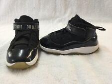 Nike Air Jordan 11 XI Retro Space Jam Toddler Boys Blue Black Shoes~size 6650b82f0