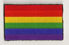 parche bordado escudo parche parche bandera GAY & LESBIAN termoadhesivo / PP-378