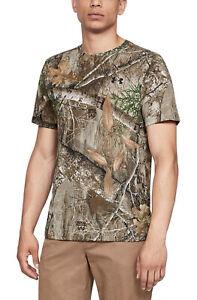NWOT Under Armour Camo Early Season Hunting Realtree Threadborne T-shirt Size S