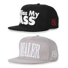 Boom Bap Snapback Cap grau schwarz Basecap Mütze Baseball Cappy Kappe Era Hat