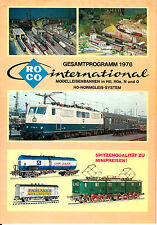 CATALOGUE ROCO, PROGRAMME 1976,  HO, HOe, N ET O RARE