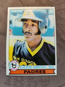 1979 TOPPS # 116 OZZIE SMITH ROOKIE Excellent++