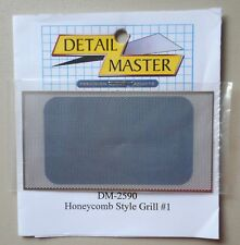 Front Honeycomb Grille 1:24 1:25 DETAIL MASTER CAR MODEL ACCESSORY 2590