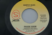 Phoebe Snow : de Harpo Blues / Easy Street [Nuevo Unplayed Copy ]