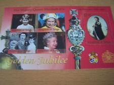 TONGA,,GOLDEN JUBILEE, SHEETLET,U/M.EXCELLENT.