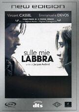 Dvd SULLE MIE LABBRA *** Vincent Cassel ***   ......NUOVO