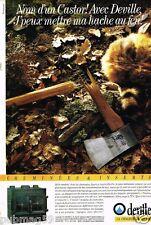 Publicité advertising 1986 Les Cheminées Deville