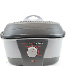 NEW Wonder Cooker WC5000 1500 Watt Multi Cooker 3HYJ With Manual