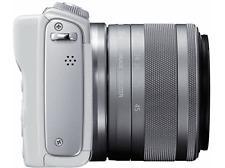 Cám EVIL-Canon EOS M100,CMOS 24.2 MP,Full HD, Wi-Fi,+ EF-M 15-45 mm f/3.5-6.3 IS