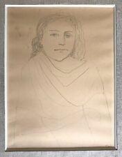 Tal Coat Pierre dessin au crayon sur papier signée Pierre Jacob Tal-Coat
