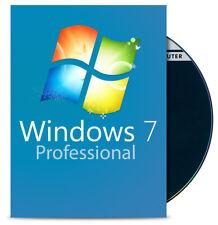 Windows 7 Professional 64 Bit DVD + COA Aktivierungsschlüssel Win 7 Pro Deutsch