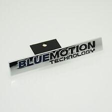 1 piezas Bluemotion Azul Emblema Frontal Parrilla Insignia de riñón Etiquetas Para Todos VW Golf s76