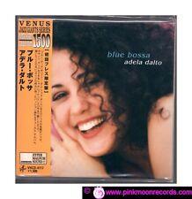 CD ADELA DALTO BLUE BOSSA 2007 VENUS RECORDS SEALED