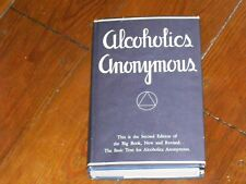 Alcoholics Anonymous Collectors! RARE NEARLY NEW 1971 2ND EDITION 12TH PTG W/ODJ