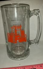 Allis chalmers agco 8000 Tractor Glass Beer Mug Stein glass cup brand new nice!