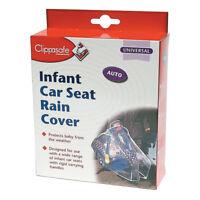 Clippasafe Infant Car Seat Rain Cover - NEW