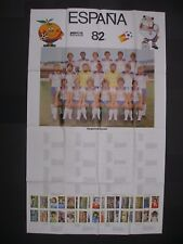 CO OP CWS-FULL SET ESPANA 82 (48 CARDS UNCUT SHEETS)+POSTER - FOOTBALL WORLD CUP