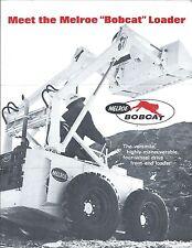 Equipment Brochure Bobcat Lowe Auger York Rake Tree Transplanter 4 Iteme3695