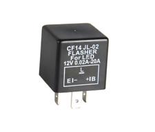 LED Blinker-Relais Lastunabhängig 12V 0,02-20A 3-Polig CF14 Flasher Blinkrelais