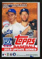 2019 Topps Update Baseball Sealed Blaster Box. Tatis jr. RC Rookie Debut Vlad Jr