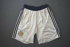 4.7/5  SCOTLAND  FOOTBALL SOCCER SHORTS  ADIDAS ORIGINAL SIZE BOYS L