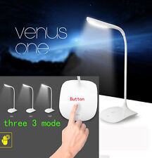 USB Rechargeable Touch Sensor Cordless LED Desk Table Reading Lamp Light KY