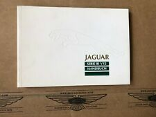 Handbuch Jaguar XJ12 Serie 3, Deutsch, sehr guter Zustand, JJM130202