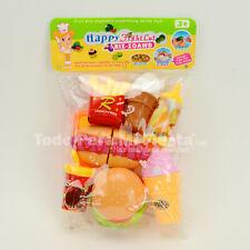 Pretend Play Set Food Hamburger Hot Dog Ice Cream Play Set Toy Girls Gift Regalo