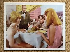 MISSION MARS Original SCI-FI SPACE Lobby Card HEATHER HEWITT SHIRLEY PARKER