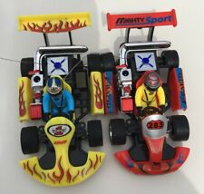2- 1:23 Scale Rechargeable Remote Controlled RC Racing Go-Karts