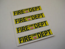 Corgi Juniors No 70-C Gran Torino Fire Chief Car Stickers - B2G1F