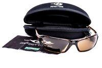MSA PREMIUM Glasses / Specs Brown Tint Lens FOG SCRATCH IMPACT RESISTANT RRP$90