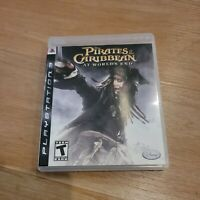 Pirates of the Caribbean: At World's End (Sony PlayStation 3, 2007) Complete