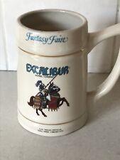 Excalibur Casino Las Vegas Nevada Beer Tankard Rare Vintage Fantasy Faire
