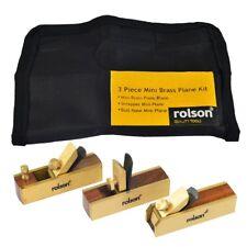 3 Pezzi Mini Kit piano di ottone-Rolson 5640
